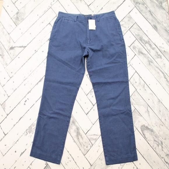 Grayers Other - Grayers Stitch Fix Mens Linen Pants French Blue